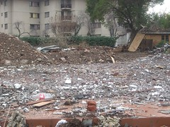 soil, rubble, demolition, disaster,