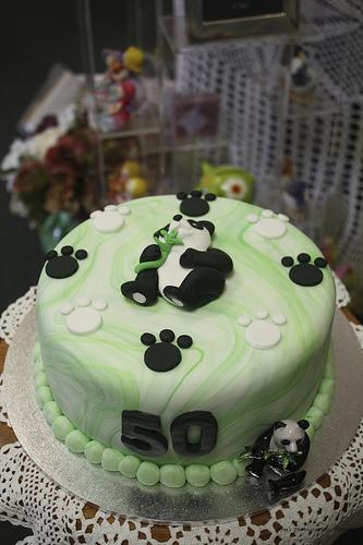 Mossy S Masterpiece 50th Birthday Panda Cake I Ve Just R Flickr