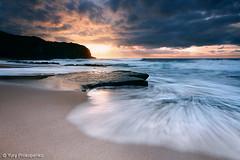 Dramatic Sunrise at Turimetta Beach