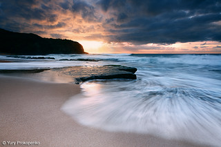 Dramatic Sunrise at Turimetta Beach