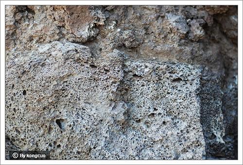 砧子山上的浮石