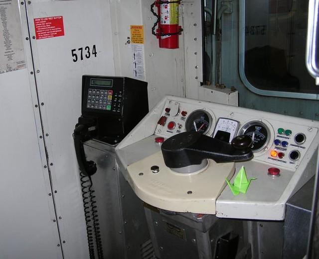 DO2007 14 - TTC - Lower Bay Station - Subway Train Driver Controls - 2007