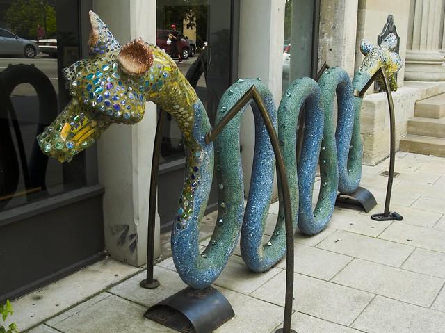 Dragon Bike Rack