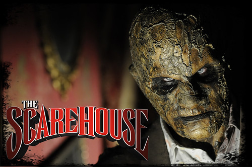 The ScareHouse haunted house - as seen on Travel Channel