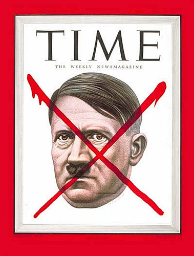 1945 ... Hitler-Time-cover -Artzybasheff