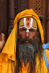 tribal chief(0.0), people(0.0), monk(0.0), facial hair(1.0), temple(1.0), tradition(1.0), religion(1.0), person(1.0), guru(1.0),