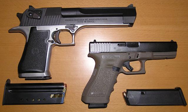 Desert Eagle Vs Glock | www.pixshark.com - Images ...