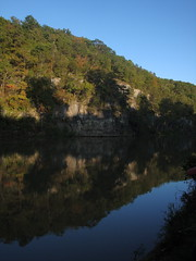 Bluffs overlooking the Meramec River