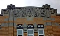 gevel huis aan de Veerhaven