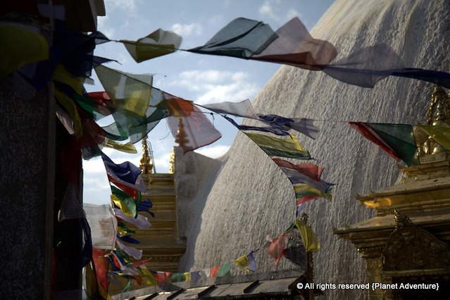 Prayer Flags - Monkey Temple - Kathmandu - Nepal