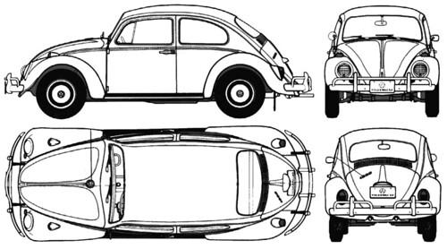 volkswagen caricatura