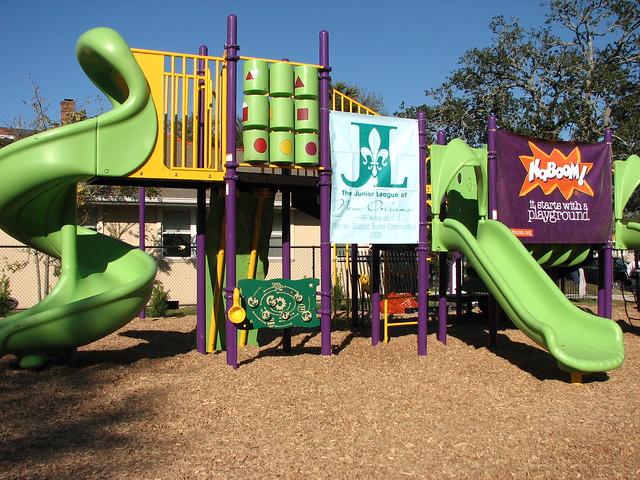 KaBOOM! Playground Build at Park Montgomery | Enterprise