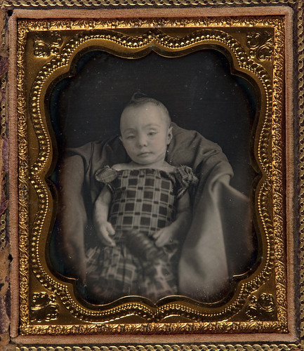 Post-mortem Portrait of Infant Girl by Museum of Photographic Arts Collections