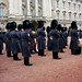 Changing the Guards at Buckingham Palace