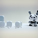 Dunny Uamou Scares The Spots Of A Dice by Simon & His Camera