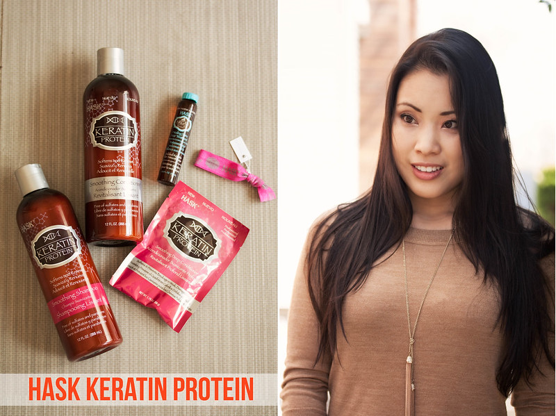 cute & little blog   hask keratin protein hair review   my hair journey