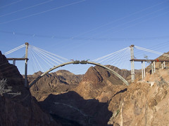 Hoover Dam Bypass Bridge Construction 2
