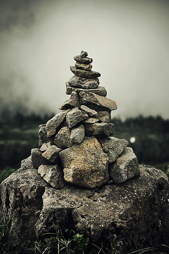 A pile of stones | Wife of a CFS sufferer