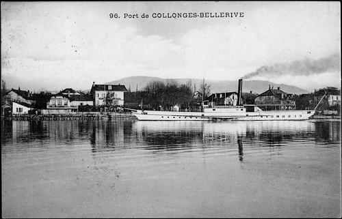 "Collonge Bellerive from the book ""Frankenstein (1818)"" by Mary Shelley"