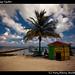 Beach grill, Caye Caulker