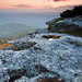 Hawksbill Mountain Sunrise Vertical 2