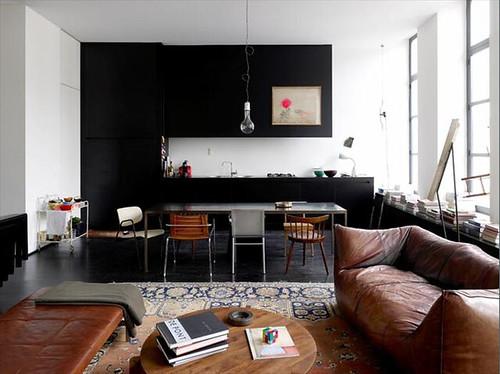 kitchen living room in loft ghent belgium flickr photo