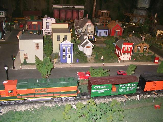 Miniature train set germany