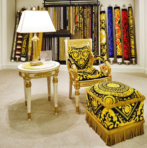 Versace home vanitas armchair a photo on flickriver for Mobili versace
