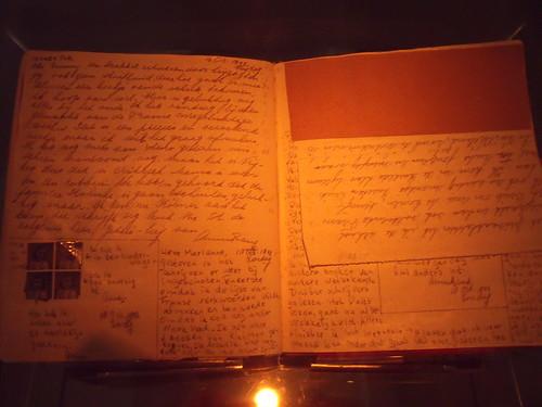 2010.07.13 01 Amsterdam 04 Anne Frankhuis 21 Het dagboek van Anne Frank