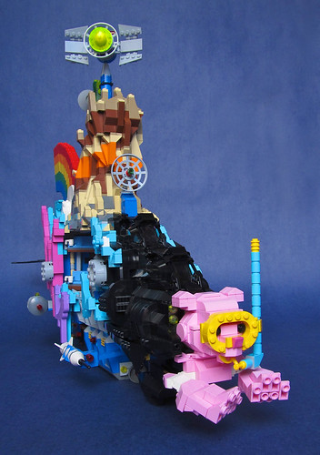 """We Can Make a Bat-submarine… (Patent Pending)"": LEGO Movie Submarine Front View"