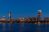 Boston skyline by tehchix0r