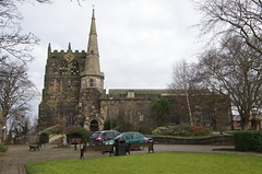 Church of St Peter and St Paul, Ormskirk, England