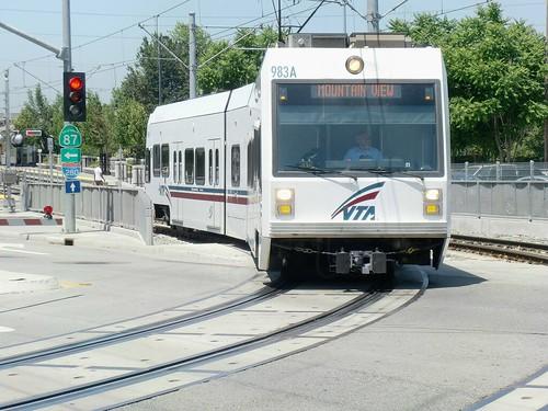 Light Rail in San Jose - 6