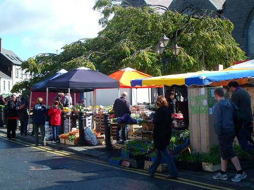 Market day in galway