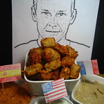 A Vegetarian Tour de France: Lance Armstrong's Hater-tots Served with Hatersauce