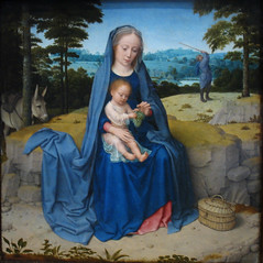 The Rest on the Flight to Egypt by David