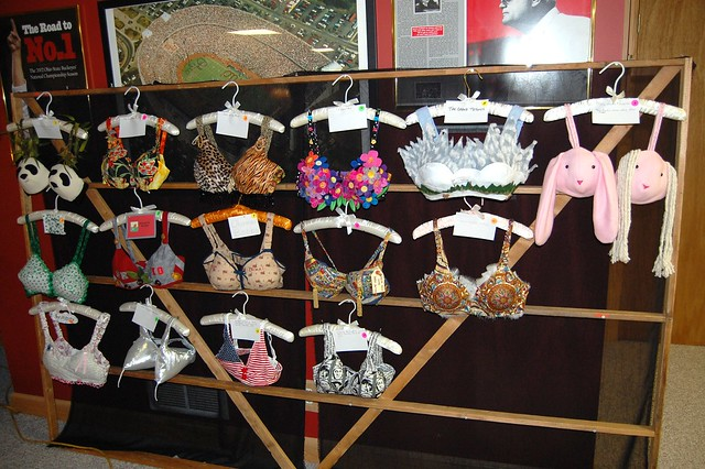 Decorated Bras http://www.flickr.com/photos/truvy57/3791119786/