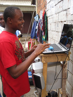 Portable ICT Sales Center at Wuse Market