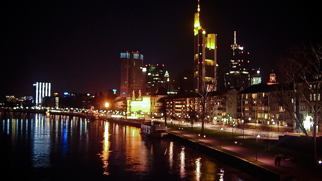 0002 - Germany, Frankfurt, Night Skyline