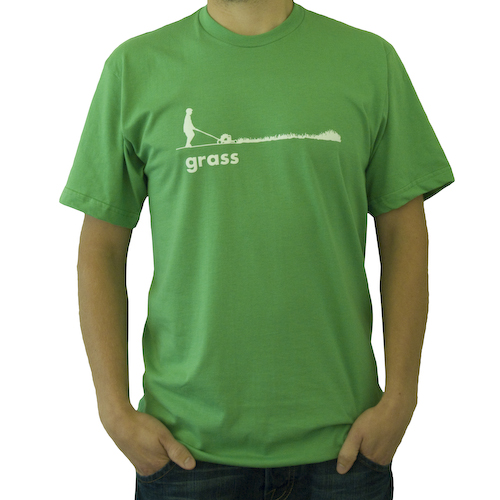 Grass Tshirt, Grass Green