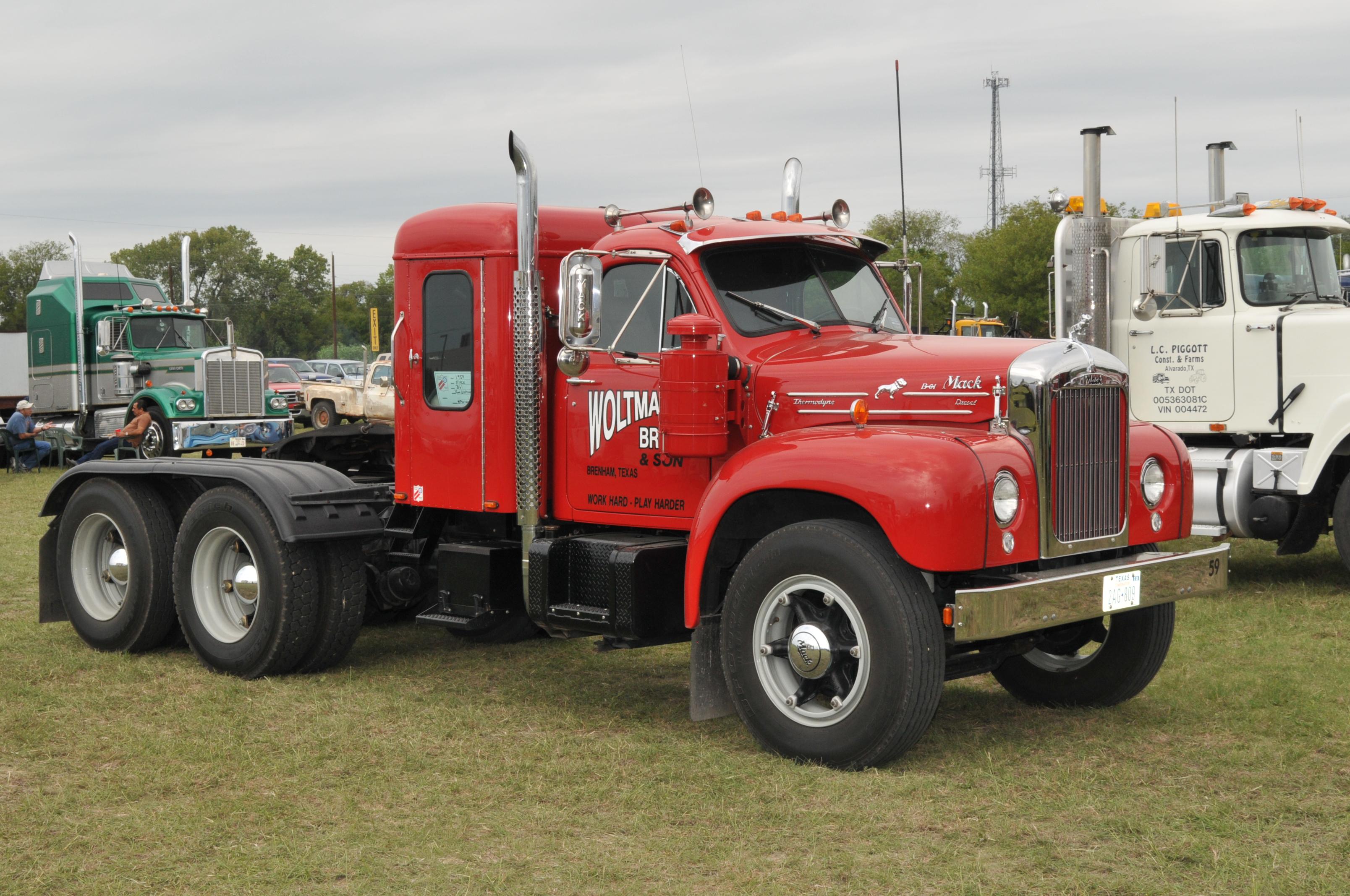 Mack Trucks B61 Models : Mack b truck flickr photo sharing