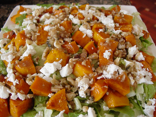 Roasted Pumpkin Salad | Flickr - Photo Sharing!