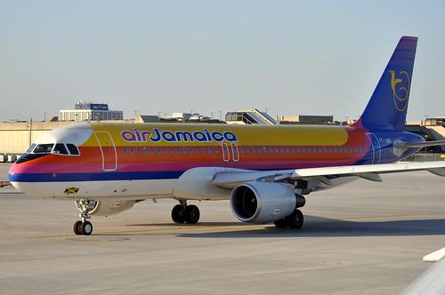 Air Jamaica A320-214 6Y-JMK