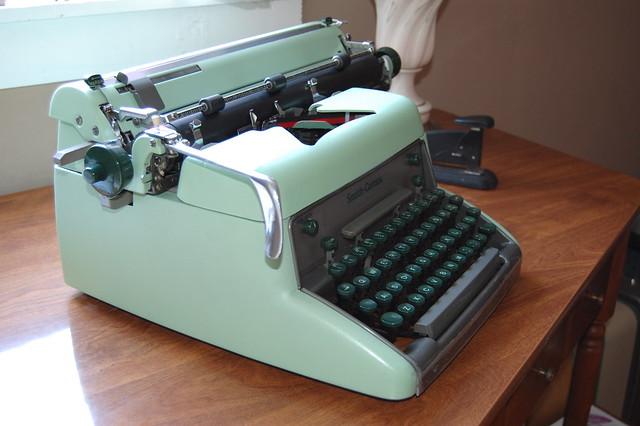 Smith Corona Eighty-Eight, Now With Hermes-esque Greenness