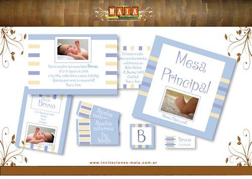 05 nacimiento o bautismo sistema compuesto por tarjeton impreso de un ...