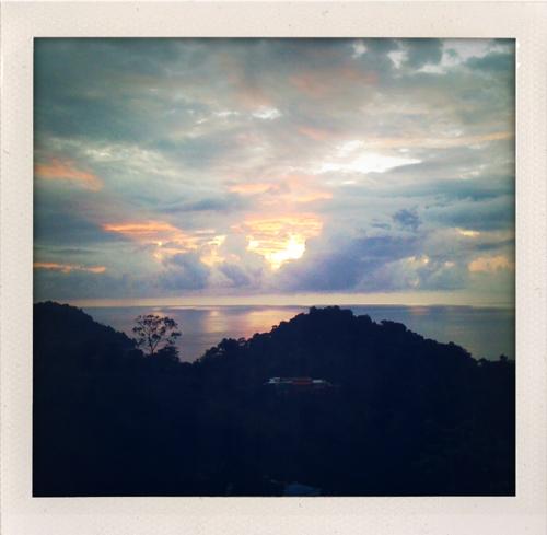 sunset costarica manuelantonio