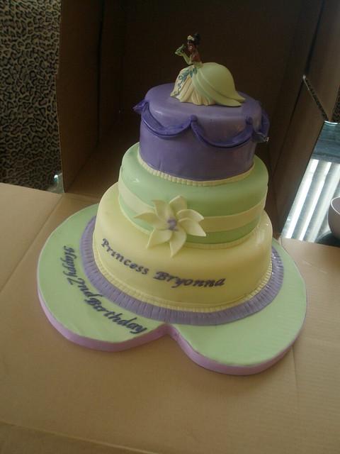 Princess And The Frog Cake Yay My First Princess And