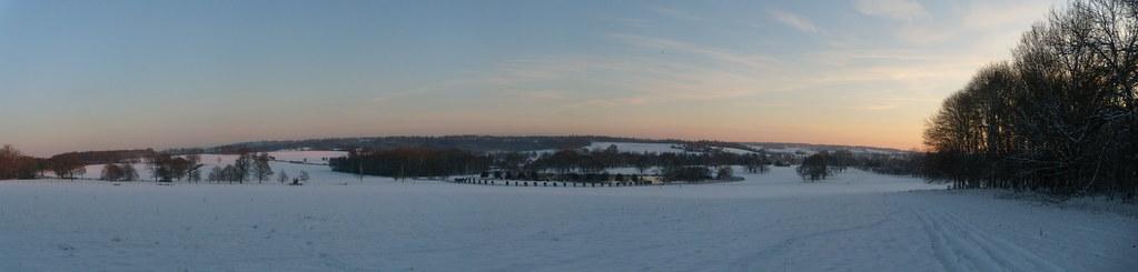 Penshurst Panorama Hever to Leigh