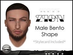 ZION Male Bento Shape