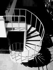 Huis Sonneveld, outside-staircase